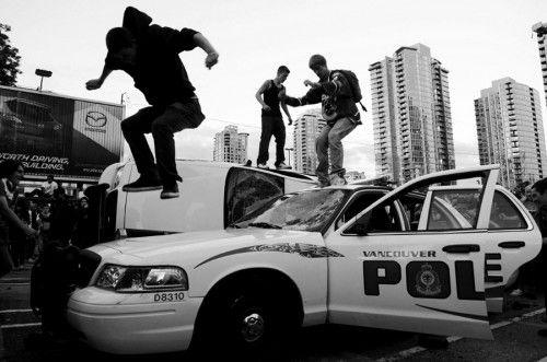 Vancouver riots #photojournalism