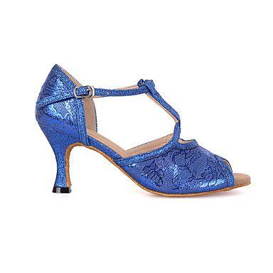 Zapatos de baile(Azul / Rojo / Blanco) -Latino / Jazz / Moderno / Zapatos de…