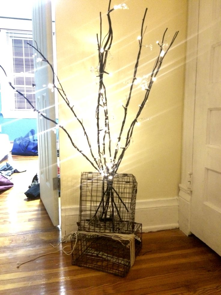 Crab trap decor by Sean Moore and Tyler Fiess