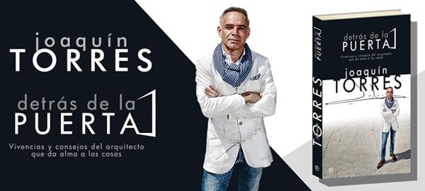 """En media hora aproximadamente en El Corte Inglés Independencia de Zaragoza firma el arquitecto Joaquín Torres """"Detrás de la puerta"""". Una ocasión única para todos aquellos fans que quieran conocerlo y tener su libro firmado."""