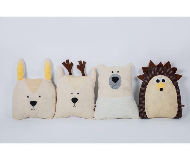 """Бортики-игрушки """"Лесные звери"""" в детскую кроватку"""