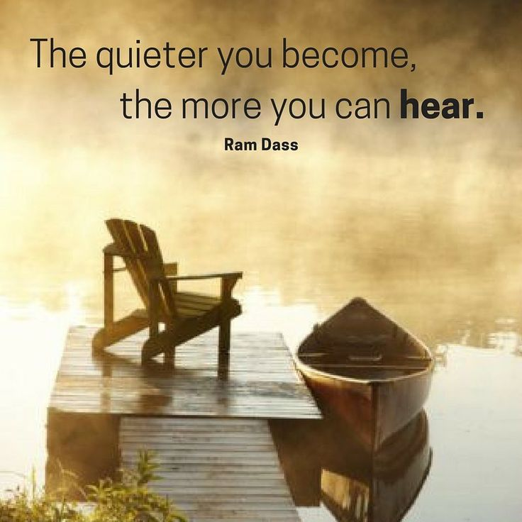Everyday life causes many distractions that prevent us from hearing our inner self. By being quiet, we are able to connect with ourselves and hear our mind.  #meditation #listen #quiet #wellbeing #bodylove #helenepouwels