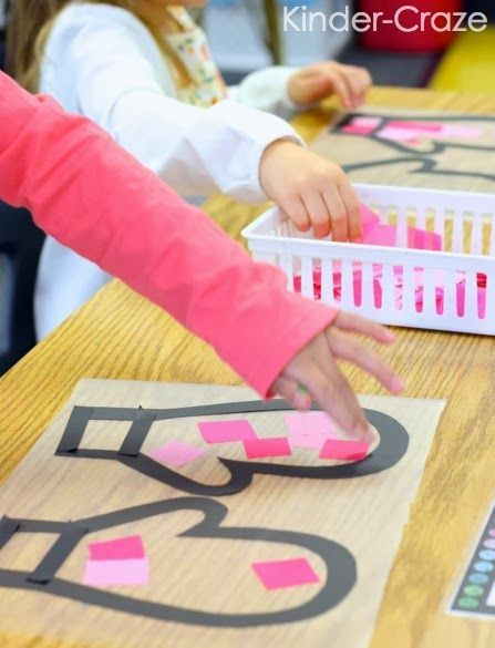 Kinder-Craze: A Kindergarten Teaching Blog: Stained Glass Mitten Window Decor Tutorial kindercrazeblog.com