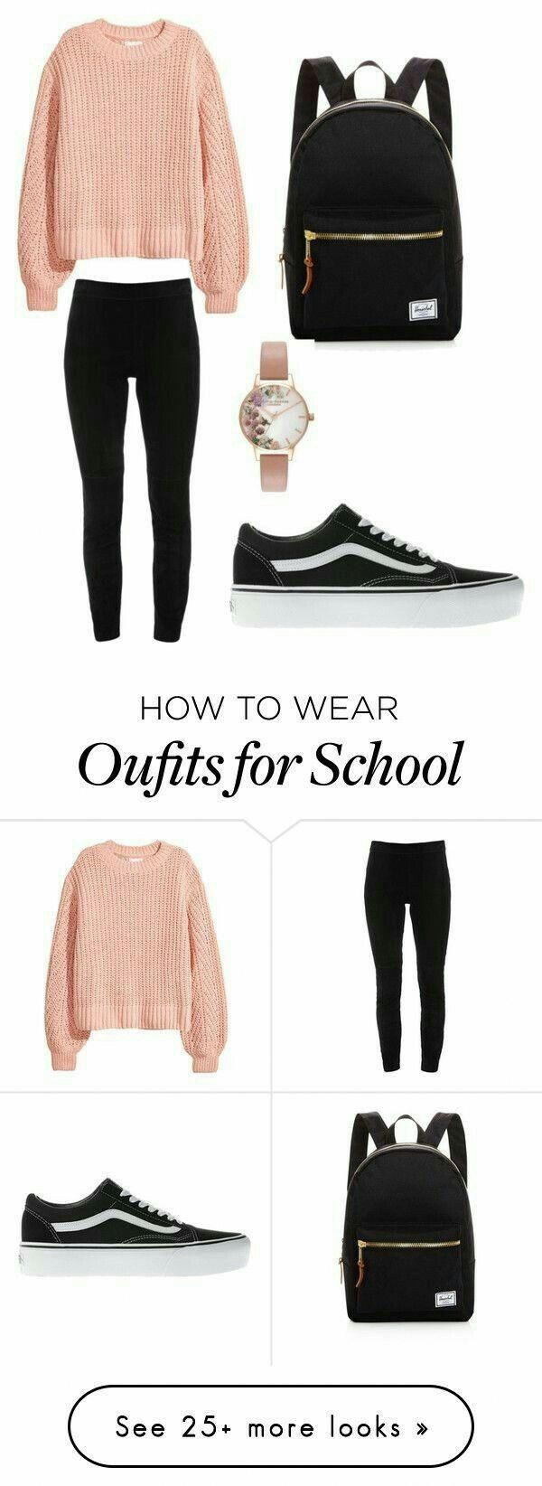 Cute back to school outfits #outfitsforschool