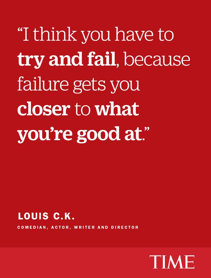 Louis C.K. had to work for years in dingy clubs and pour a ton of effort into unsuccessful projects before achieving this level of success. And along the way, he built up a stockpile of wisdom worth paying attention to