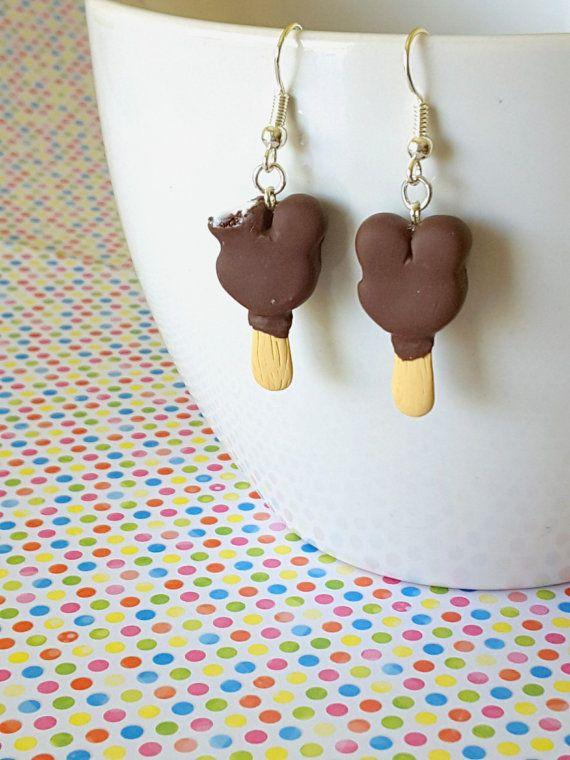 Disney inspired Mickey's premium ice cream bar earrings