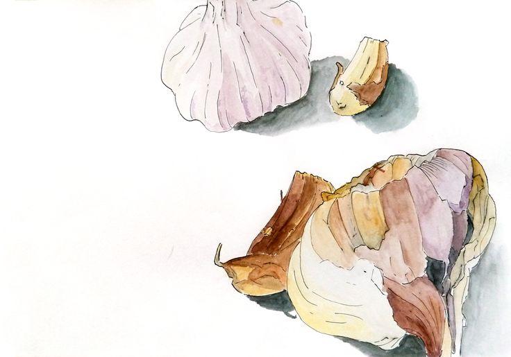 Pedro Fonseca. Aguarela e tinta-da-china s/ papel, 29,7 x 42 cm