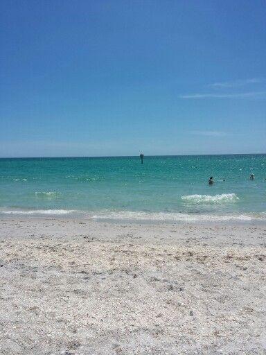 Beautiful beach. Englewood beach. Manasota Key Florida