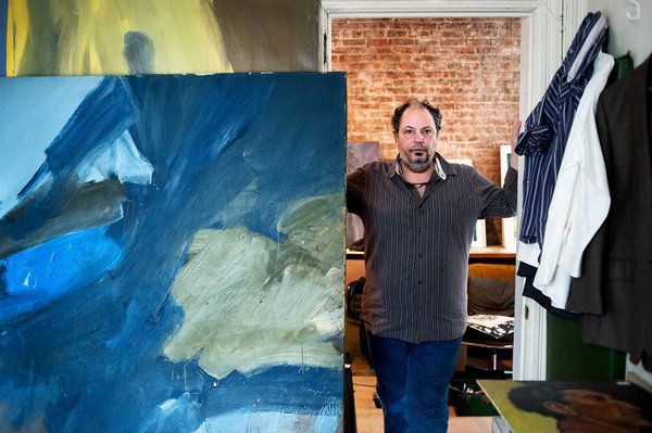 Raymond Spillenger of the New York School Gets Noticed - NYTimes.com  This is his son in Spillenger's apartment.  He and his brother found a cache of paintings.