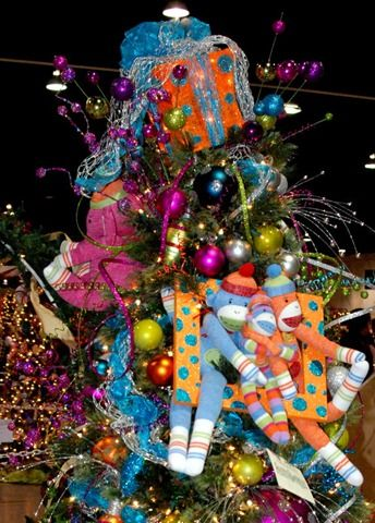 ... toys and ribbons and filler | Jubilee Christmas tree decorations