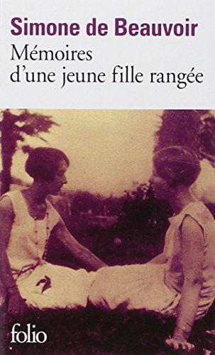 Mémoires d'une jeune fille rangée - Simone de Beauvoir French books recommended by Geraldine at Comme Une Francaise: http://www.commeunefrancaise.com/french-books-i-love/