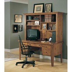 Broyhill attic heirlooms desk with hutch in 4 colors 1497desk1 home decor pinterest - Broyhill home office furniture ...