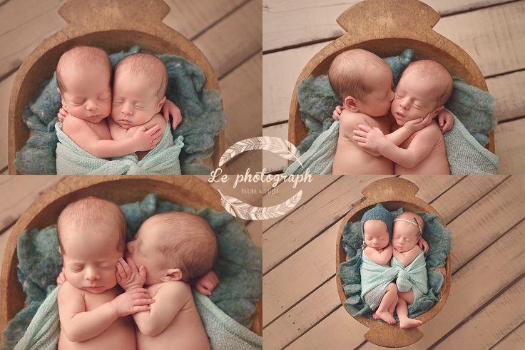 Newborn twins - siblings photography. Gemelos / Mellizos recién nacidos   www.lephotograph.es
