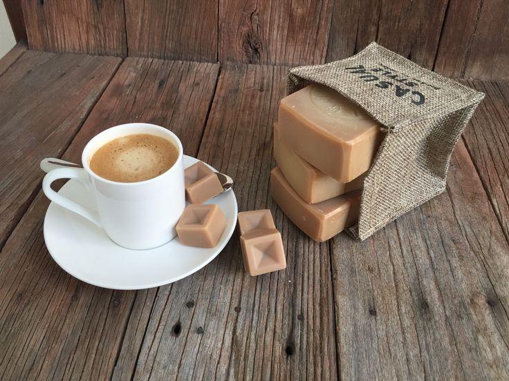Espresso natural soap.