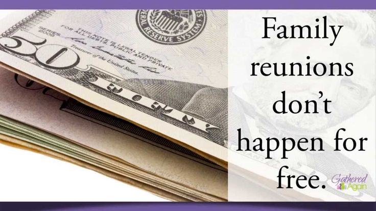 Selling Tickets - Family Reunion Planning 60 Second Tips