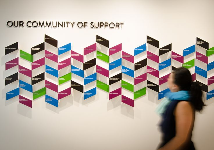 Stuart House Donor Wall // Altitude Design Office