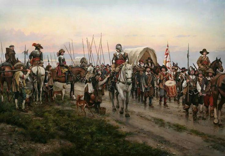 """""""Camino Español"""" de Augusto Ferrer-Dalmau."""