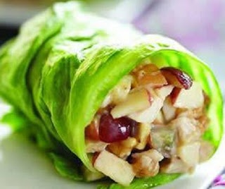 Chicken Apple Wraps | C4 II