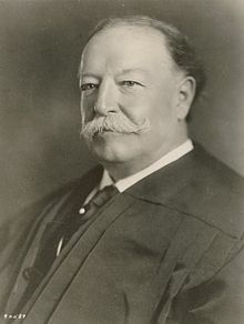 July 11th, 1921; Former President William Howard Taft is sworn in as the 10th Chief Justice of the US Supreme Court.  The only former President to ever hold the position of Chief Justice.