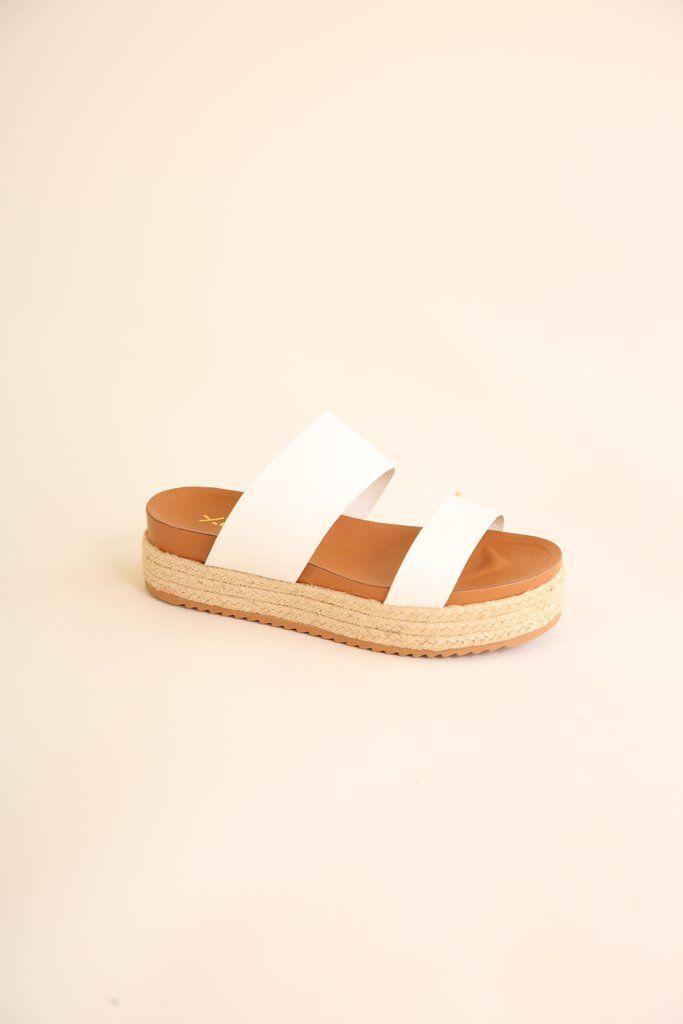 58bff7b18b2 White espadrille sandals