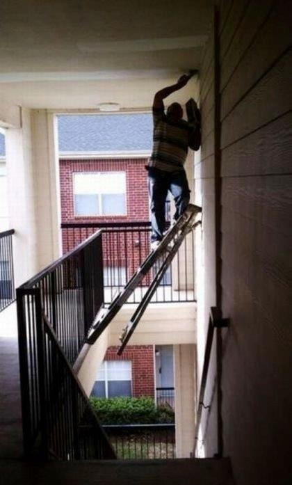 """I know we are called to respect and honour or husbands, but sometimes their """"ingenuity"""" wavers...  (and no - this is not Mike)"""