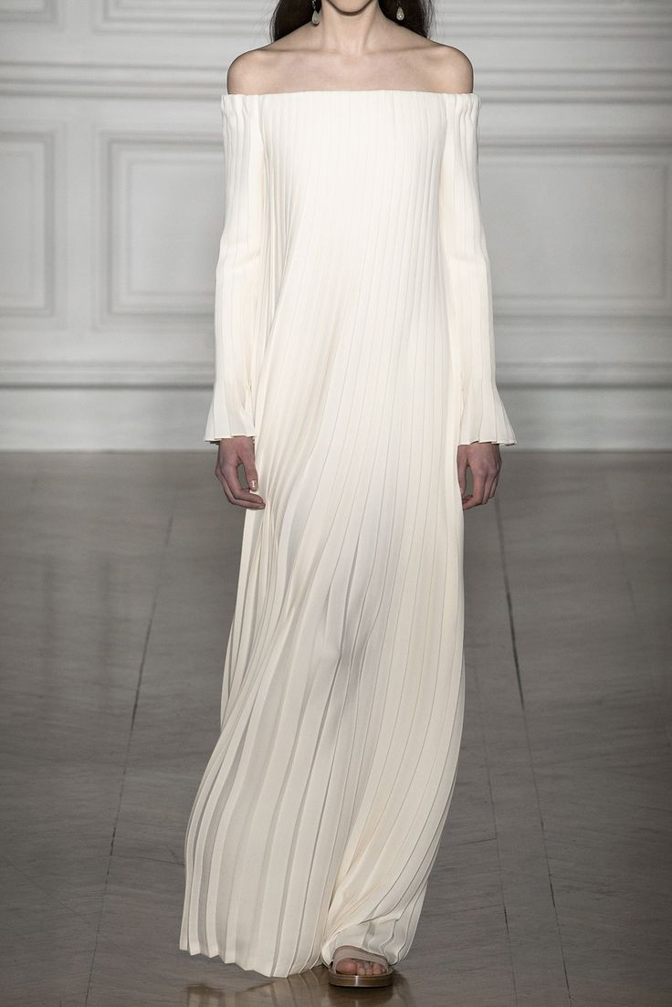 off the shoulder Valentino wedding dress