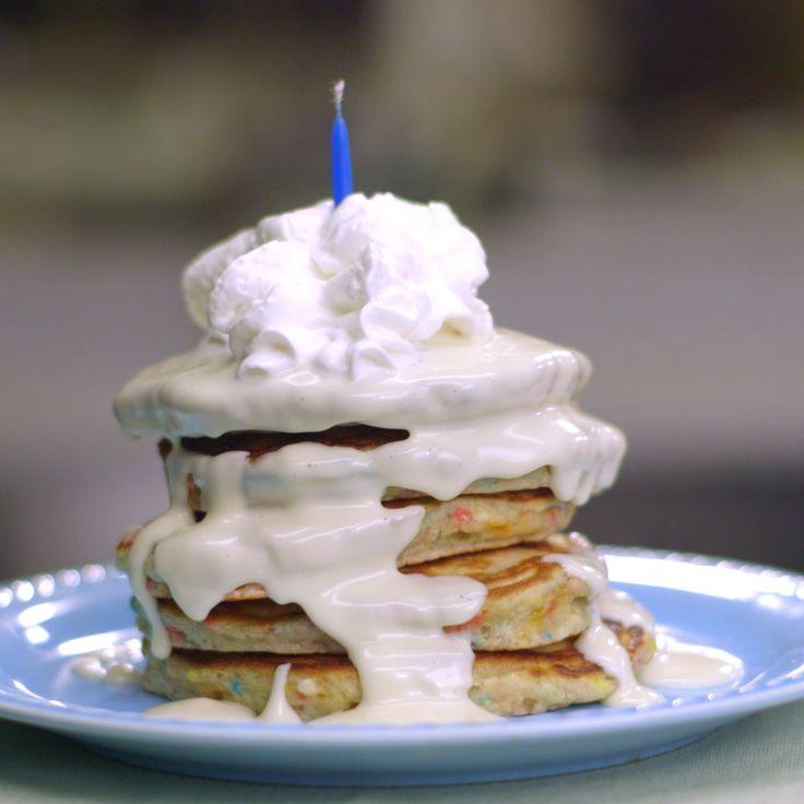 Best 25+ Birthday Pancakes Ideas On Pinterest