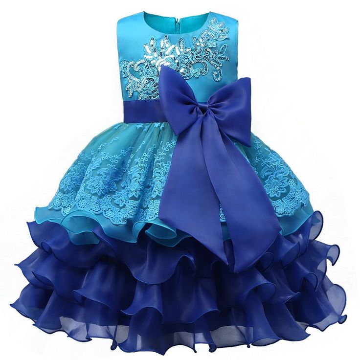 Children Evening Gown Flower Princess Dress  #PrincessDress #ChildrenGown #Gown #GirlsFashion