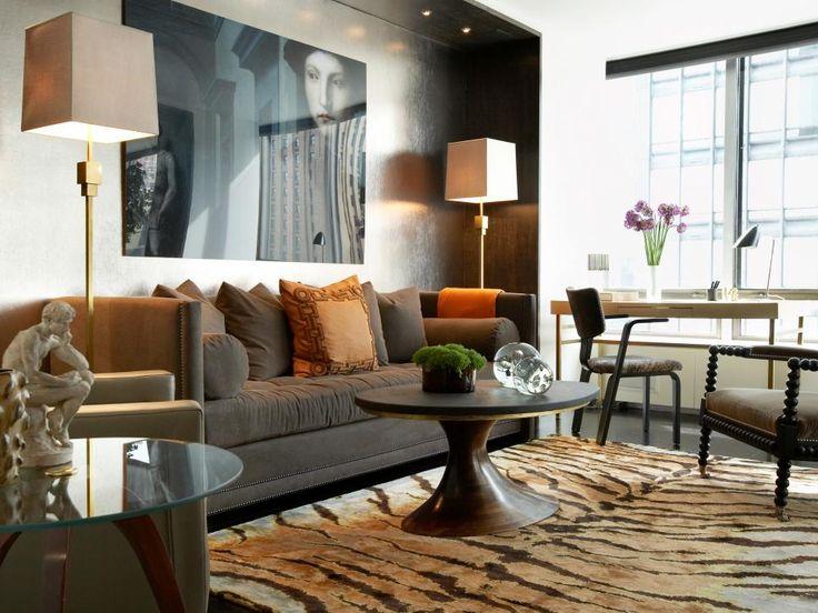 Area Rug Tips. Masculine Living RoomsMasculine RoomChic ...