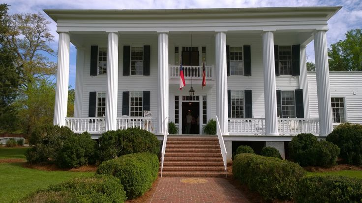 Wilkes County, GA Peacewood has  the pedigree – land originally owned by George Walton, a signer of the Declaration of Independence.  The house is also known as Wingfield-Cade-Saunders house, and is listed on the National Register of Historic Places.