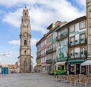 Clérigos Tower, a landmark of the historic city – a Unesco world heritage site