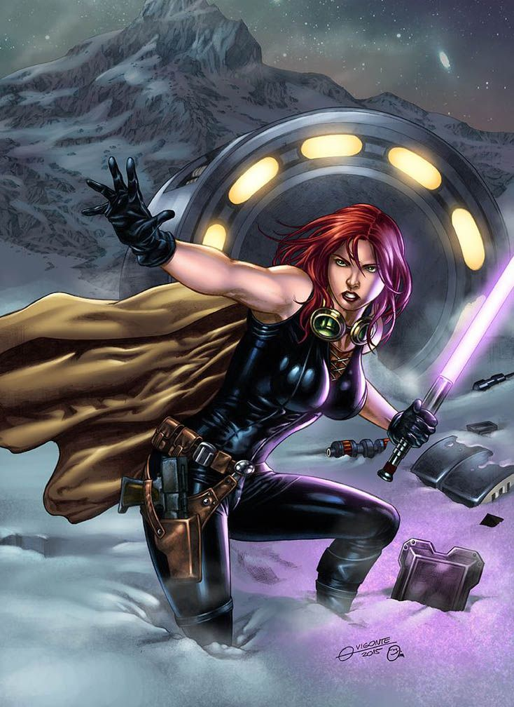 Mara Jade is The Emperor's Hand