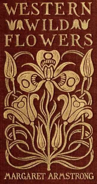 Beautiful Art Nouveau Illustration...Western Wild Flower's