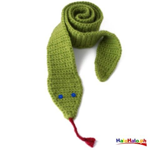 Snake Scarf Knitting Pattern : 1000+ images about Knitted snake scarf patterns on Pinterest