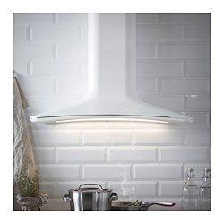 IKEA - HARMONISK, Wandafzuigkap, Gratis 5 jaar garantie. Raadpleeg onze folder voor de garantievoorwaarden.Geeft de keuken een warme, lichte uitstraling door zijn zachte vorm en unieke design, kleur en materialen.Door het grote afzuigoppervlak worden etenswalmen en -geurtjes snel en effectief verwijderd.Incl. led-lamp; verlicht het kookvlak effectief en bespaart energie.Het vetfilter is eenvoudig te verwijderen en in de vaatwasser schoon te maken. Incl. 2 vetfilters.Spaart tijd omdat je…
