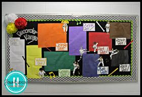 Bulletin board for recorder karate- cute idea