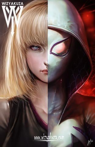 Spider-Gwen Split