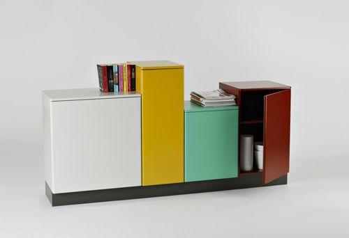 "Kinda takes the whole ""board"" idea of a sideboard and turns it on its head, eh?: Sideboard Row, Casa Sera, Mi Casa, Swedish Daniel, Furniture, Shelving Ideas, Daniel Svahn"