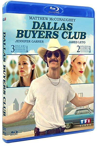 Dallas Buyers Club (Oscar® 2014 du meilleur acteur)  [Blu-ray]
