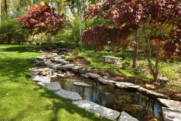 Complete your backyard pond with a unique and polished edging idea. Check out…