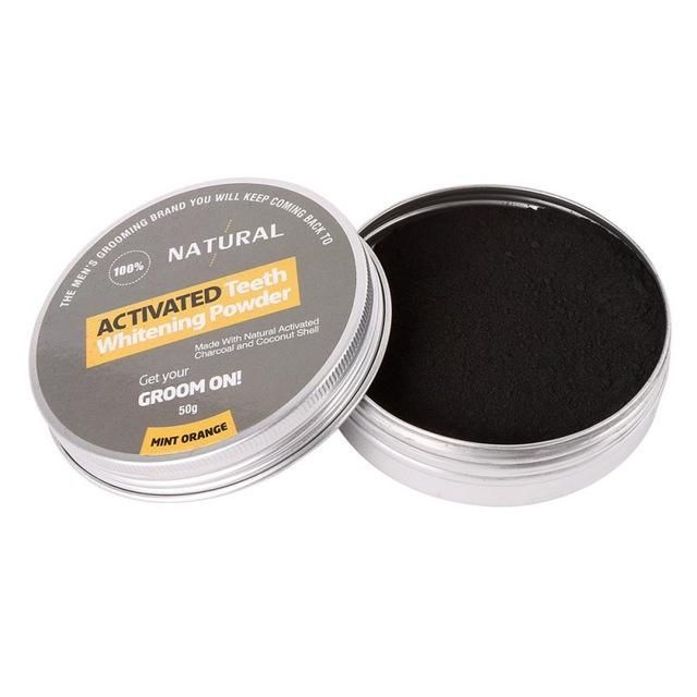 Activated Carbon Teeth Whitening Powder Pro w/ Coconut Shell