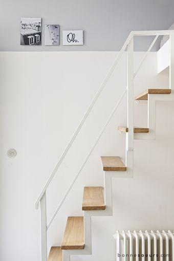 bonnesoeurs decoration welcome 03 escalier metal chene sur mesure