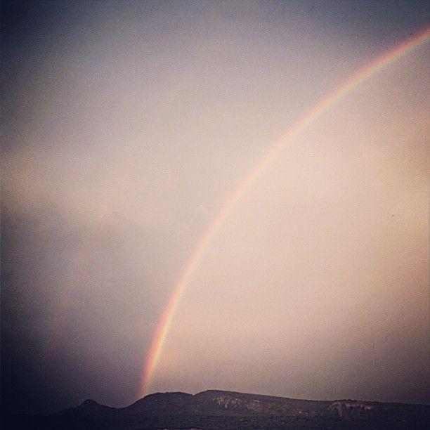 Arc de Sant Marti al #Pallars / A Rainbow in  #Pallars #Catalunya http://mandongo.cat/