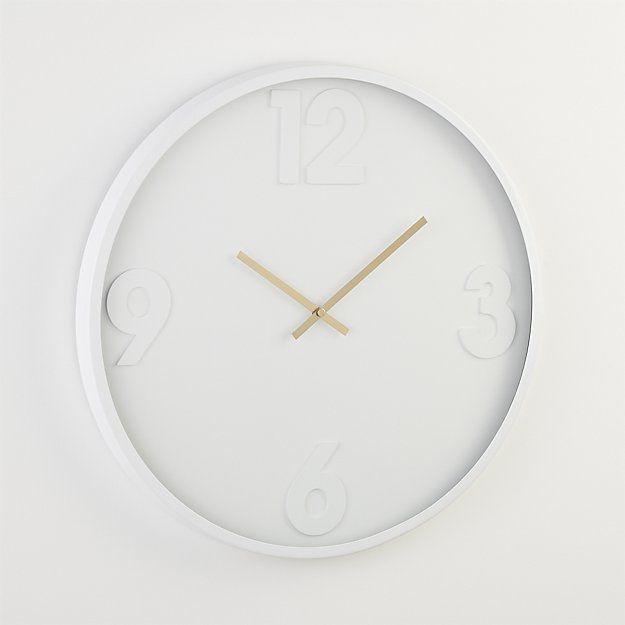 Mellowallclocks18 Wall Clock White Wall Clocks Wall Clock Modern