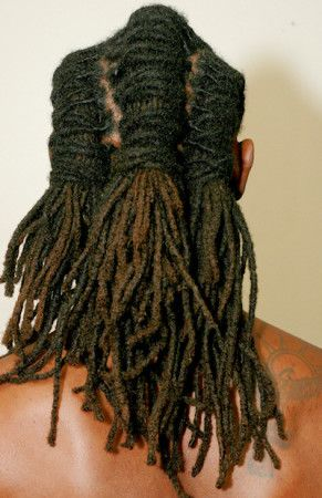 professional men dread hairstyles