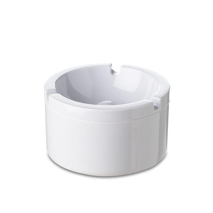 Rosti Mepal - Aschenbecher mit Deckel, weiß Weiß T:10 H:6 B:10 Jetzt bestellen unter: http://www.woonio.de/produkt/rosti-mepal-aschenbecher-mit-deckel-weiss-weiss-t10-h6-b10/