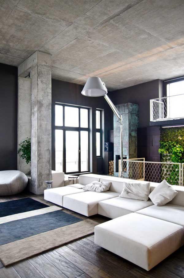 Combinação de diversos materiais e texturas dão um ar moderno e sofisticado ao Loft em Kiev. Este luxuoso Loft é um projeto do estúdio ucraniano 2B Group e fica localizado na cobertura de um edifício em Kiev. O design de interiores inspirador reúne diversos estilos e materiais, combinados de forma a oferecer um conjunto perfeito…
