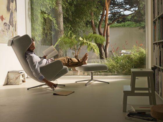 "Lounge chair ""Grand Repos & Ottoman"" from Vitra / Antonio Citterio"
