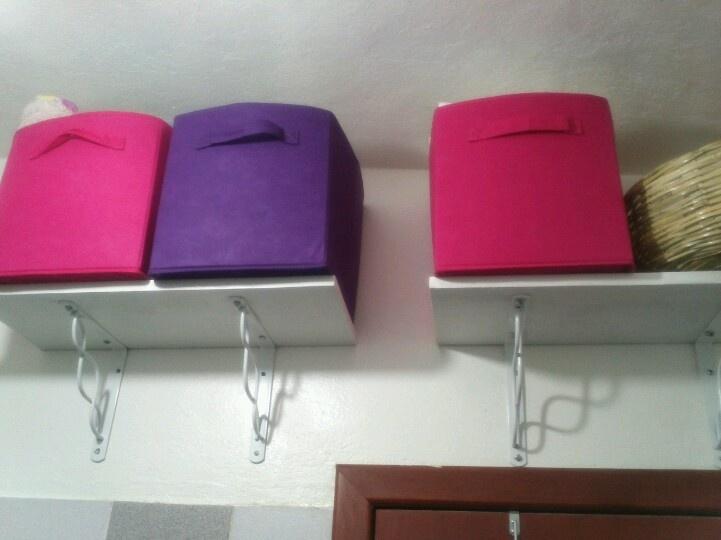 Organizacion en baños pequeños