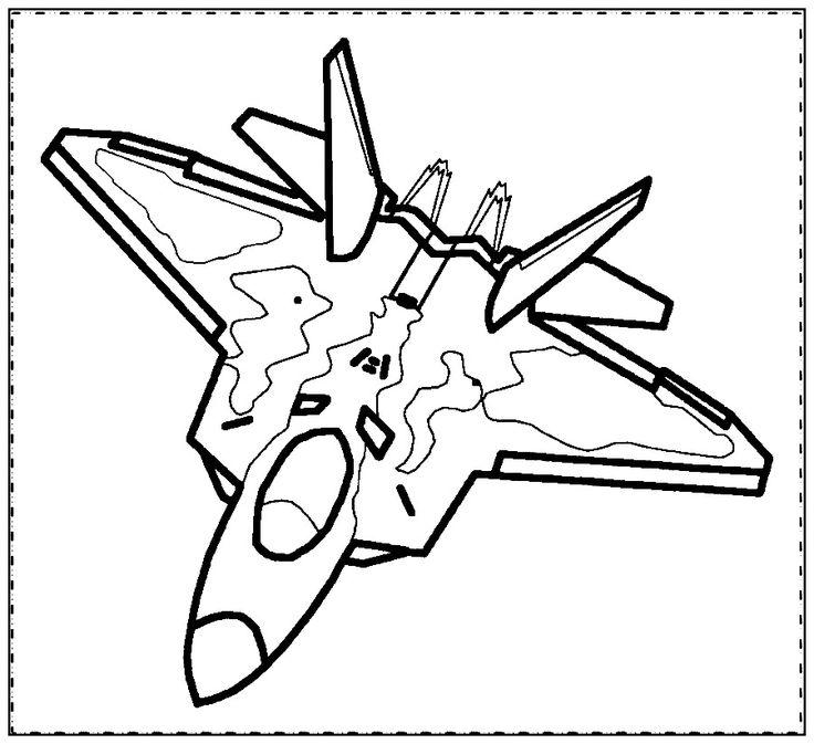 Aviones para colorear en linea 🛬🛬 Colorear aviones online